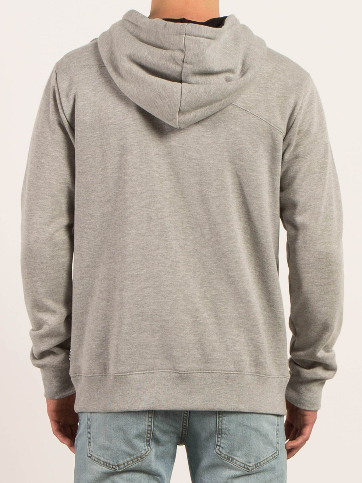 Single Stone Pullover Hoodie - Grey