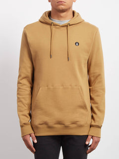 Single Stone Pullover Hoodie - Old Gold