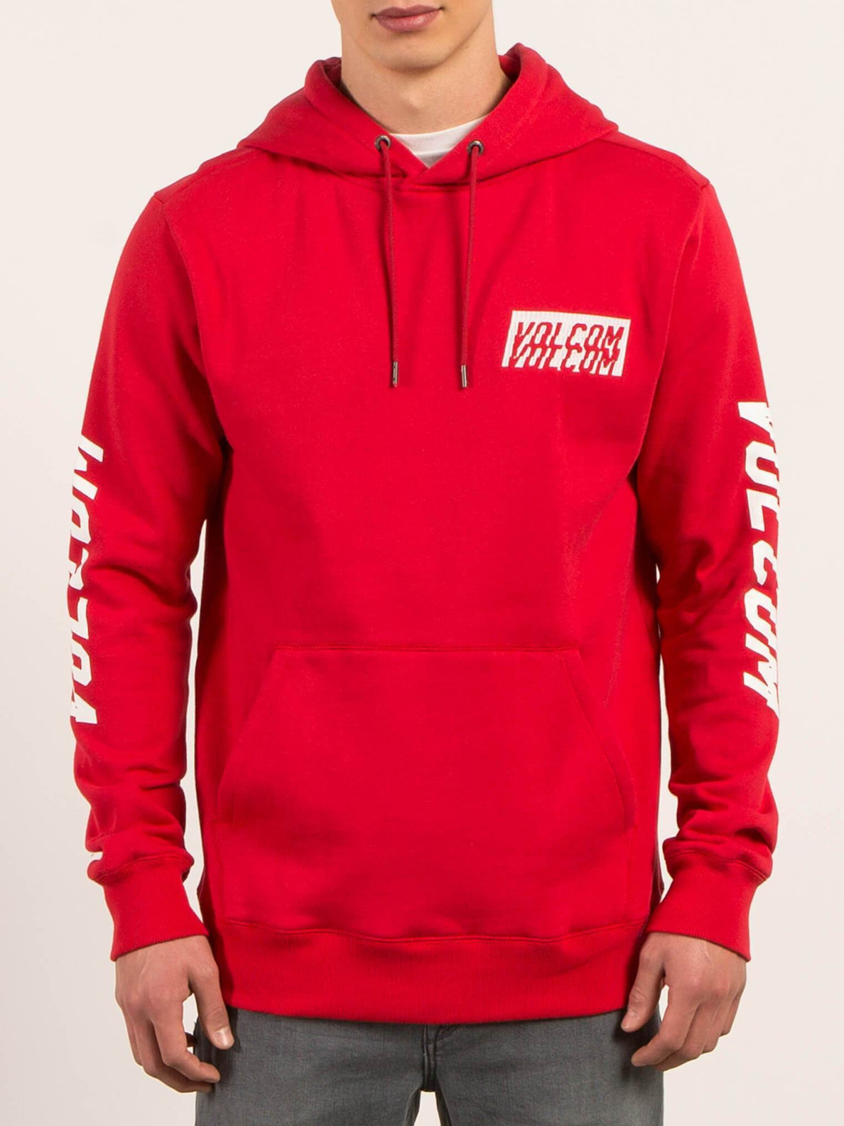 Supply Stone Pullover Hoodie - True Red