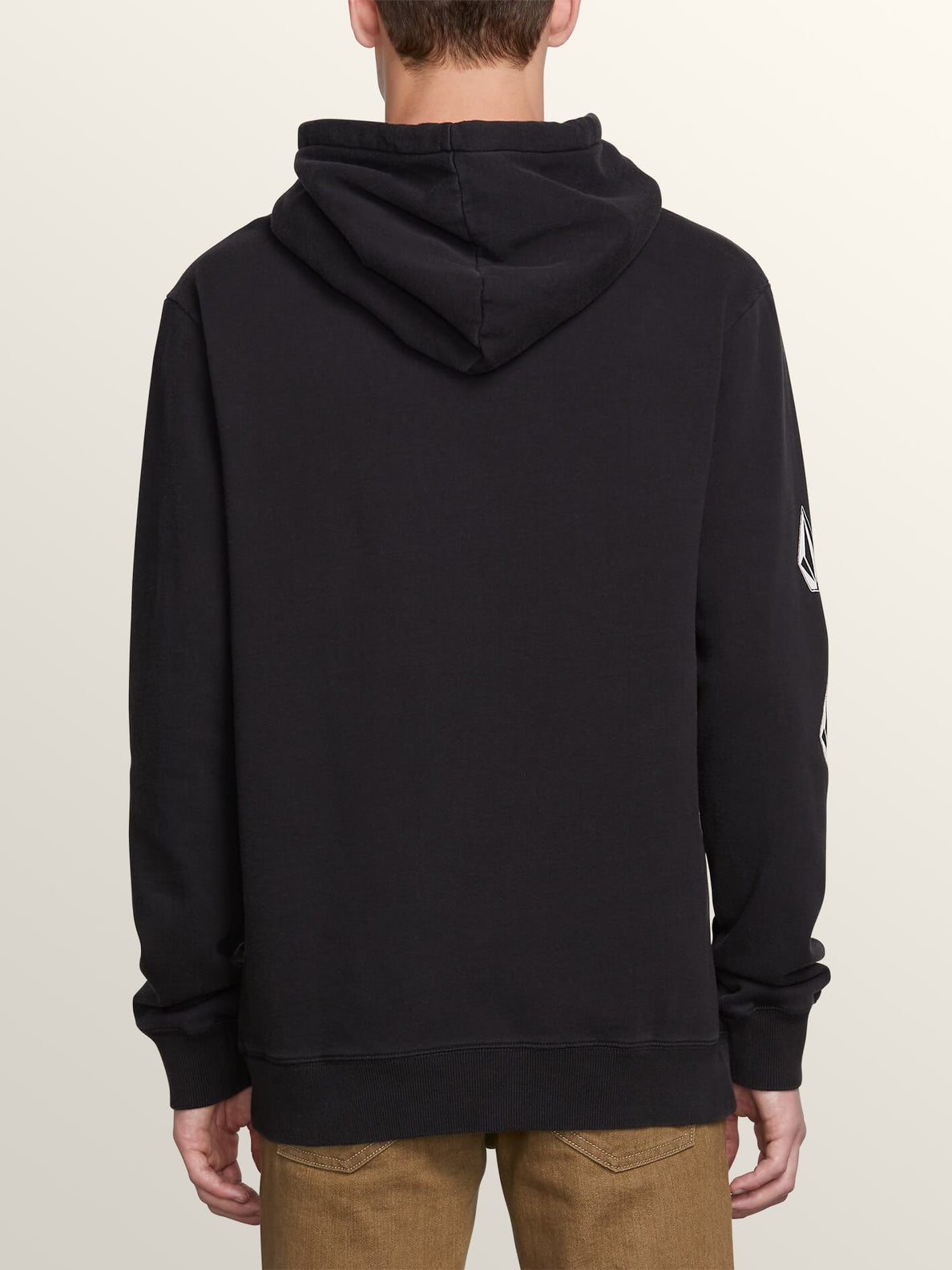 Deadly Stones Pullover Hoodie - Washed Black