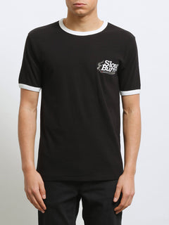 Slowburn Short Sleeve Tee - Black