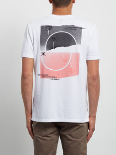 Over Ride Tee - White