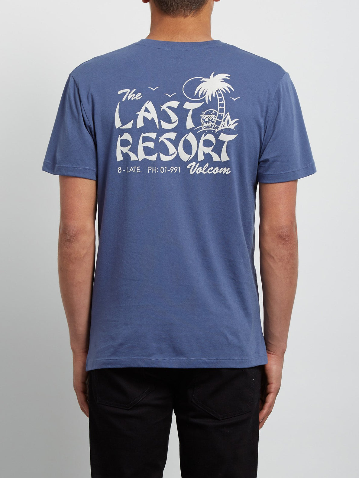 Last Resort Tee - Deep Blue