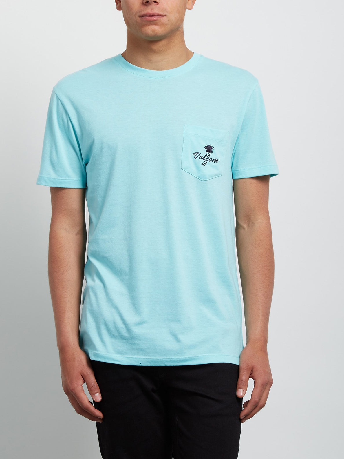 Last Resort Tee - Pale Aqua