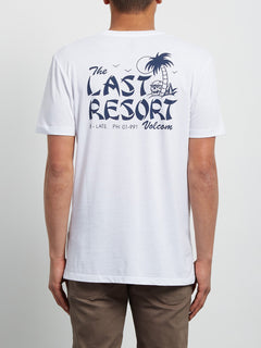 Last Resort Tee - White