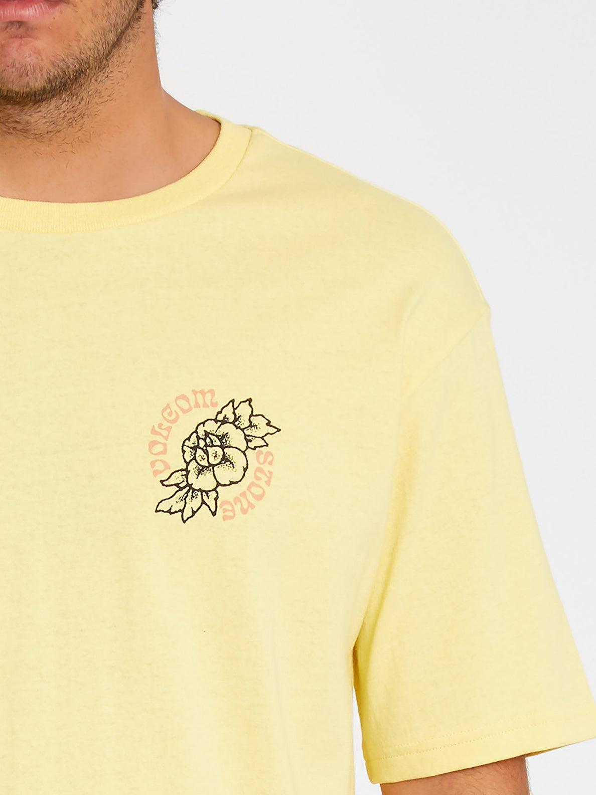 Gridlock T-shirt - Dawn Yellow (A4312106_DNY) [B]