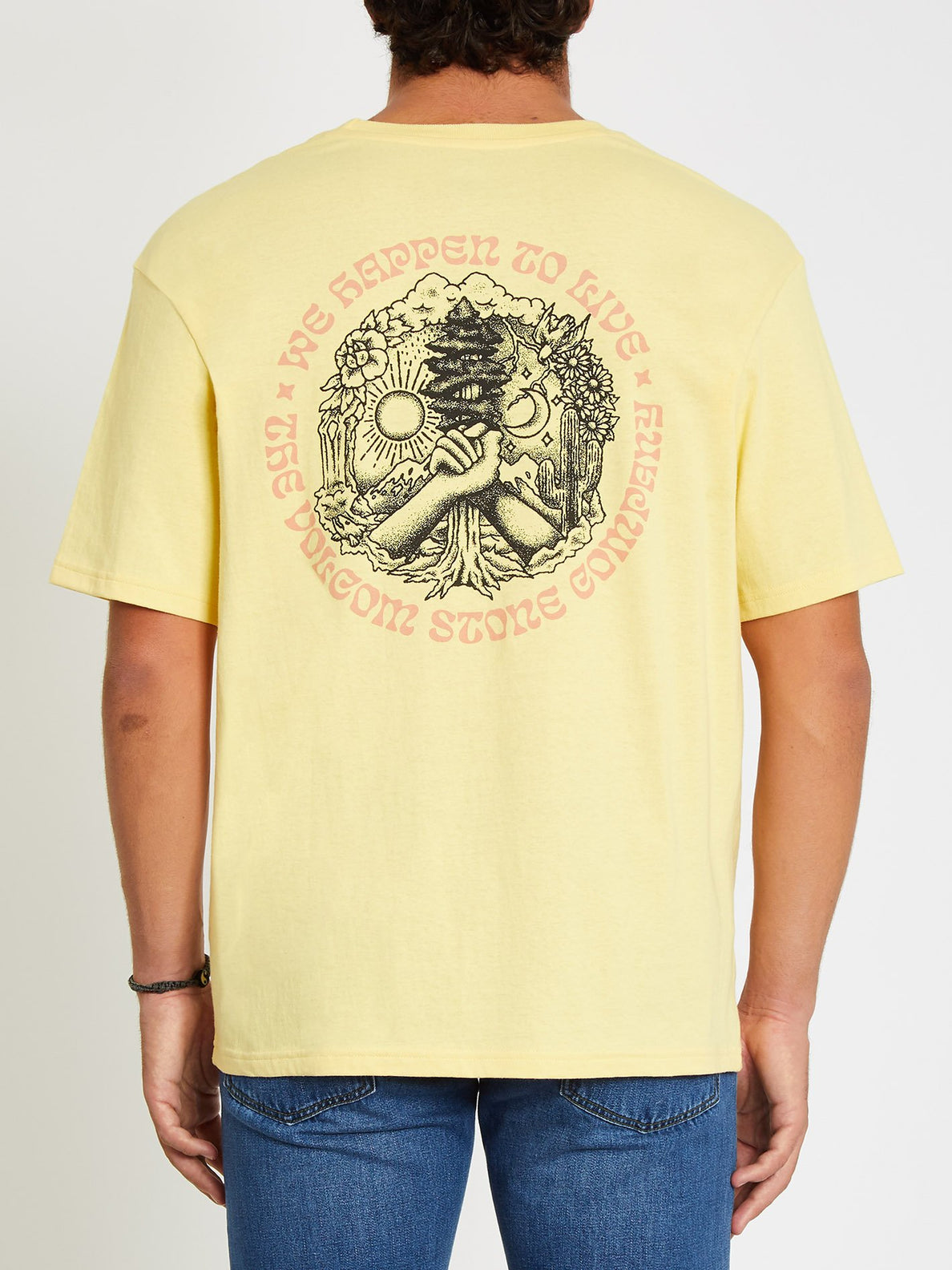 Gridlock T-shirt - Dawn Yellow (A4312106_DNY) [F]