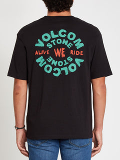 We Ride T-shirt - Black (A4312117_BLK) [F]