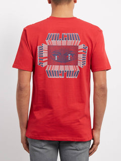 Black Hole  T-shirt - Engine Red