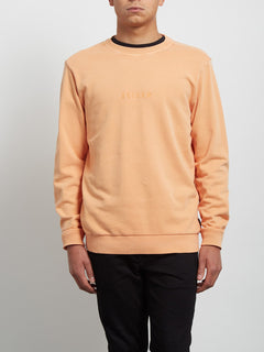 Case Crew Sweatshirt - Summer Orange