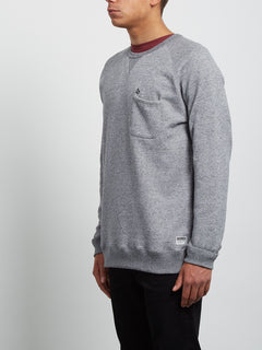 Shelden Crew Sweatshirt - Grey