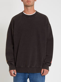 Harcid Wash Sweatshirt - Black (A4612153_BLK) [10]