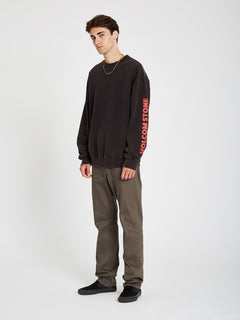 Harcid Wash Sweatshirt - Black (A4612153_BLK) [20]
