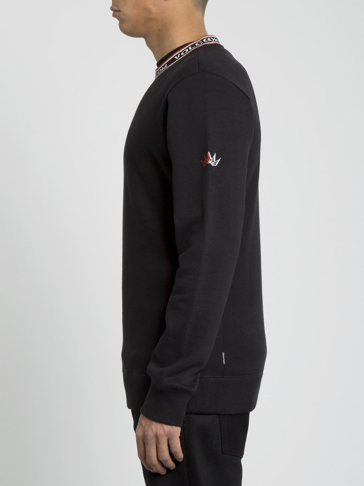 Forward To Past Sweater - Black (A4631900_BLK) [1]