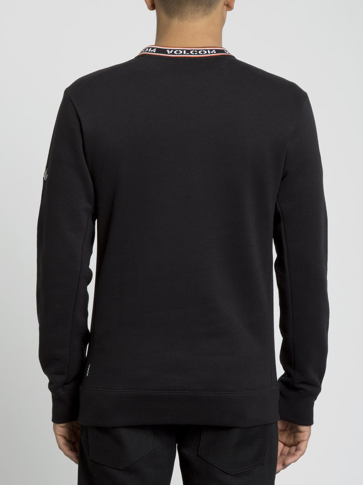 Forward To Past Sweater - Black (A4631900_BLK) [B]
