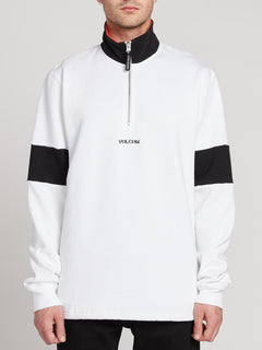 Rixon Fleece Sweater - White (A4631907_WHT) [2]