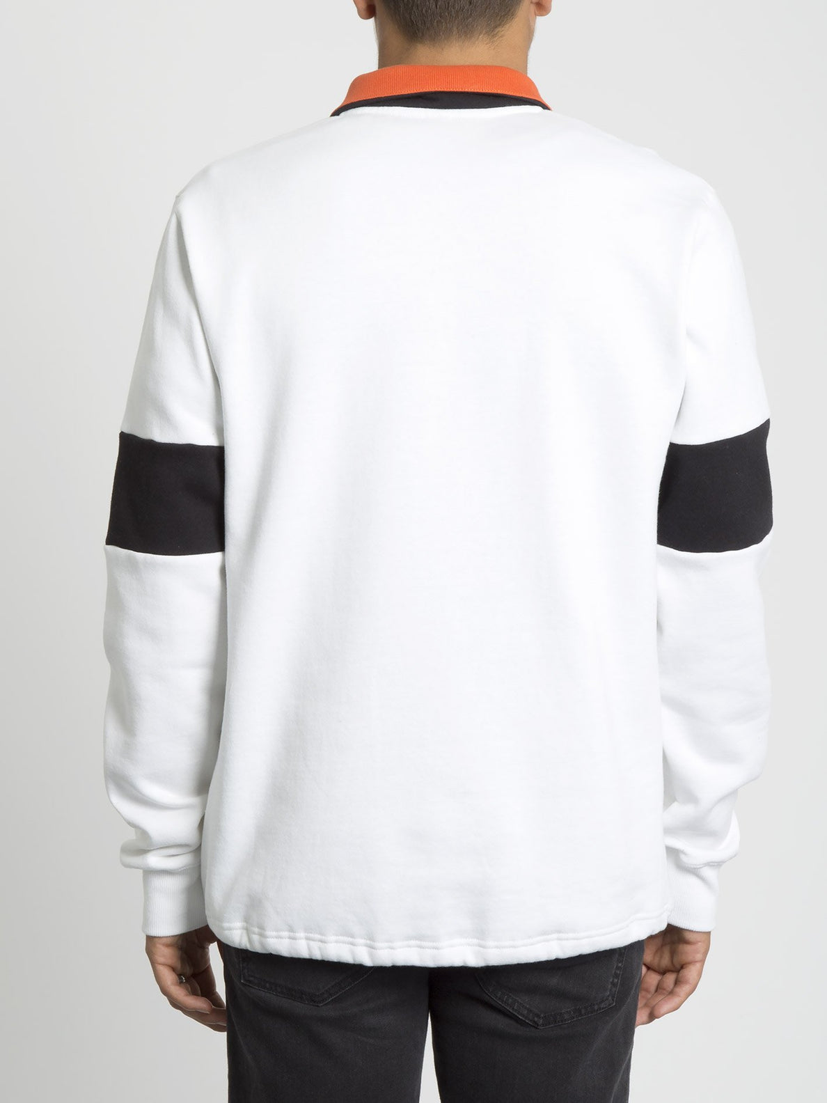 Rixon Fleece Sweater - White (A4631907_WHT) [B]