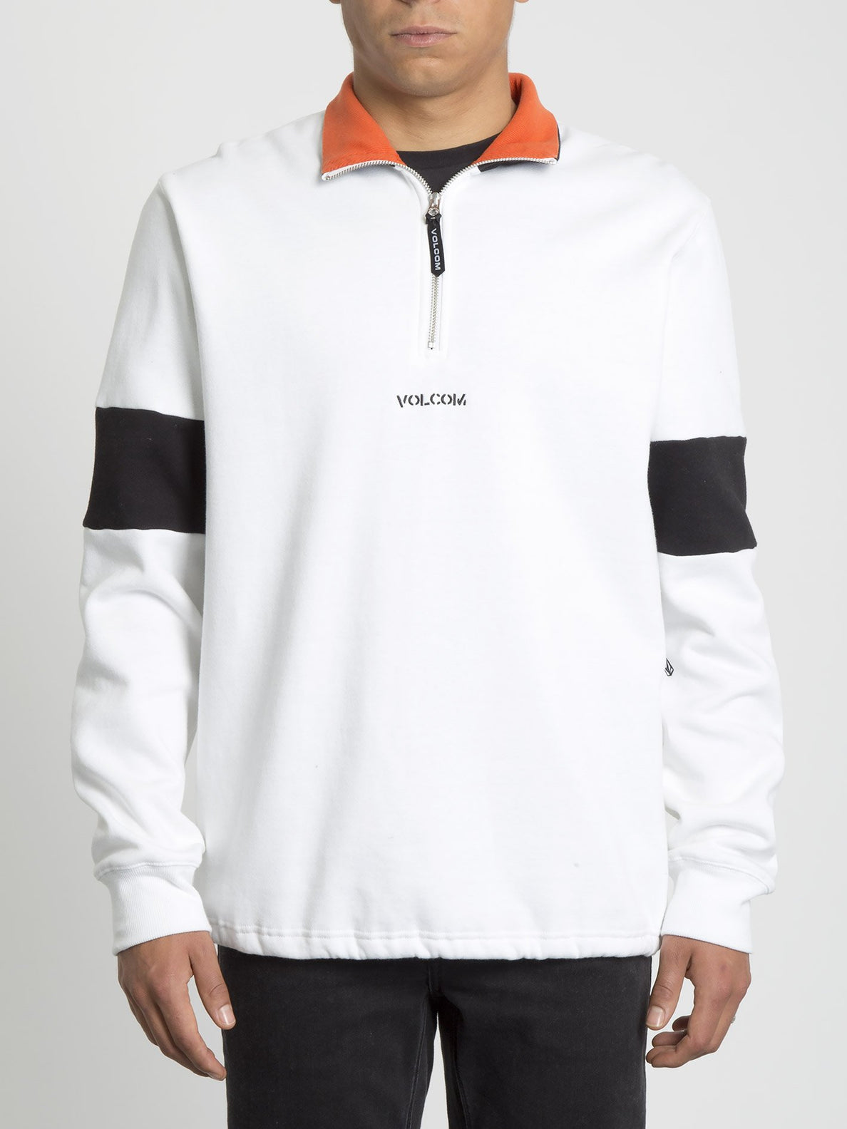 Rixon Fleece Sweater - White (A4631907_WHT) [F]