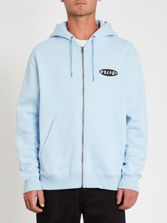 Supply Stone Zip Sweatshirt - Aether Blue (A4812104_AEB) [F]
