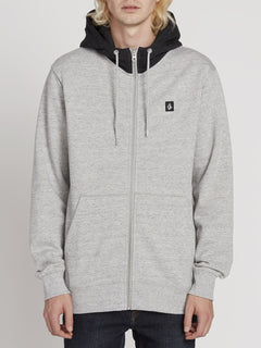 Single Stone Zip Hoodie - Storm (A4831909_STM) [F]