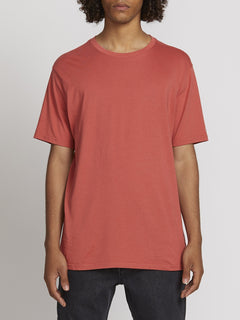 SOLID S/S TEE (A5031807_MNL) [F]