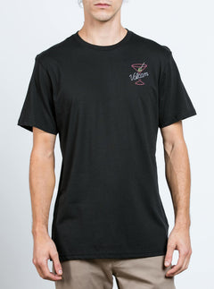 Kneon Nights Tee - Black