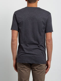 Circle Stone Heather Tee - Heather Black
