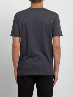 Rip Pocket Short Sleeve Tee - Heather Black