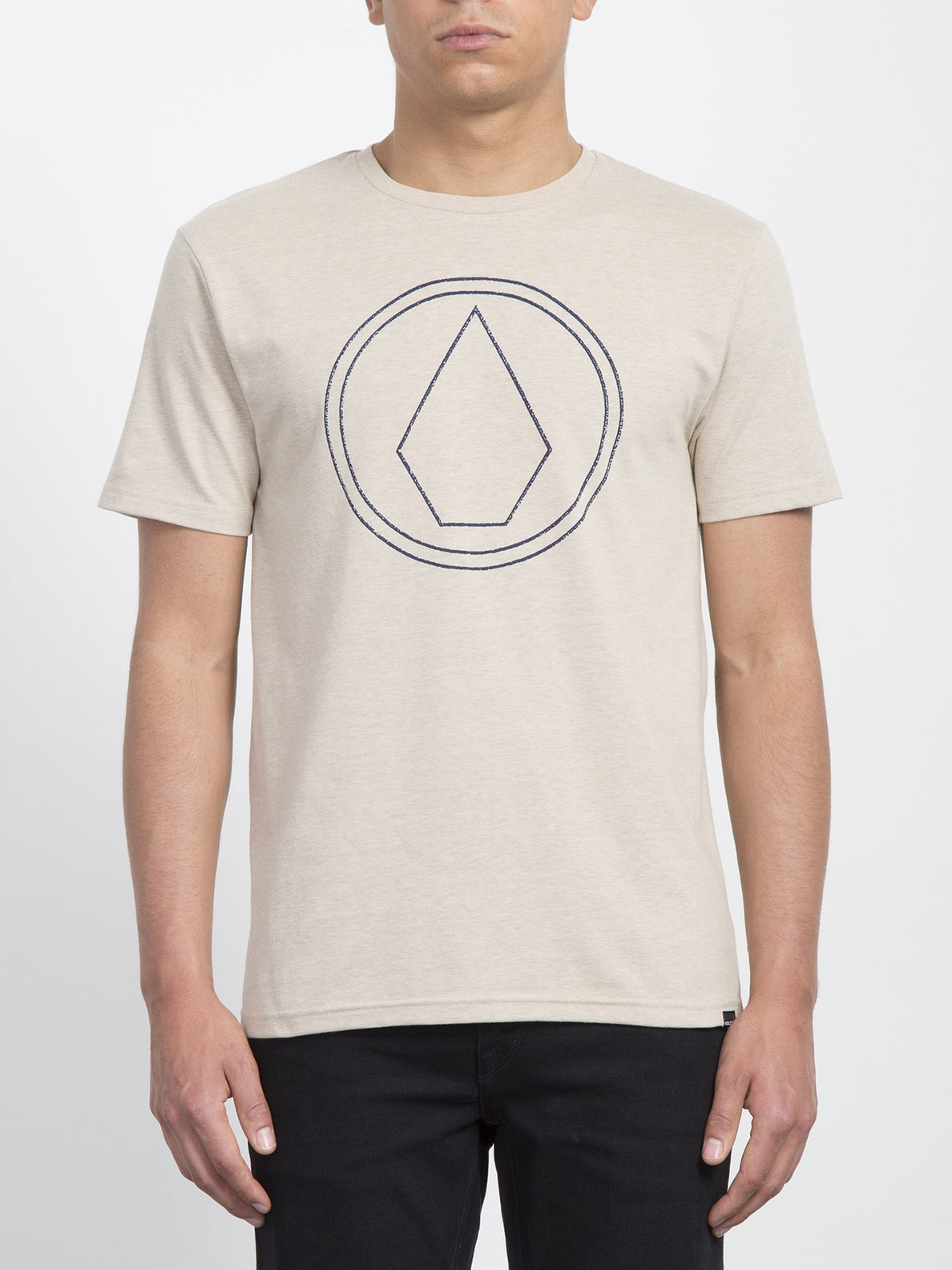 Pin Stone T-shirt  - Oatmeal