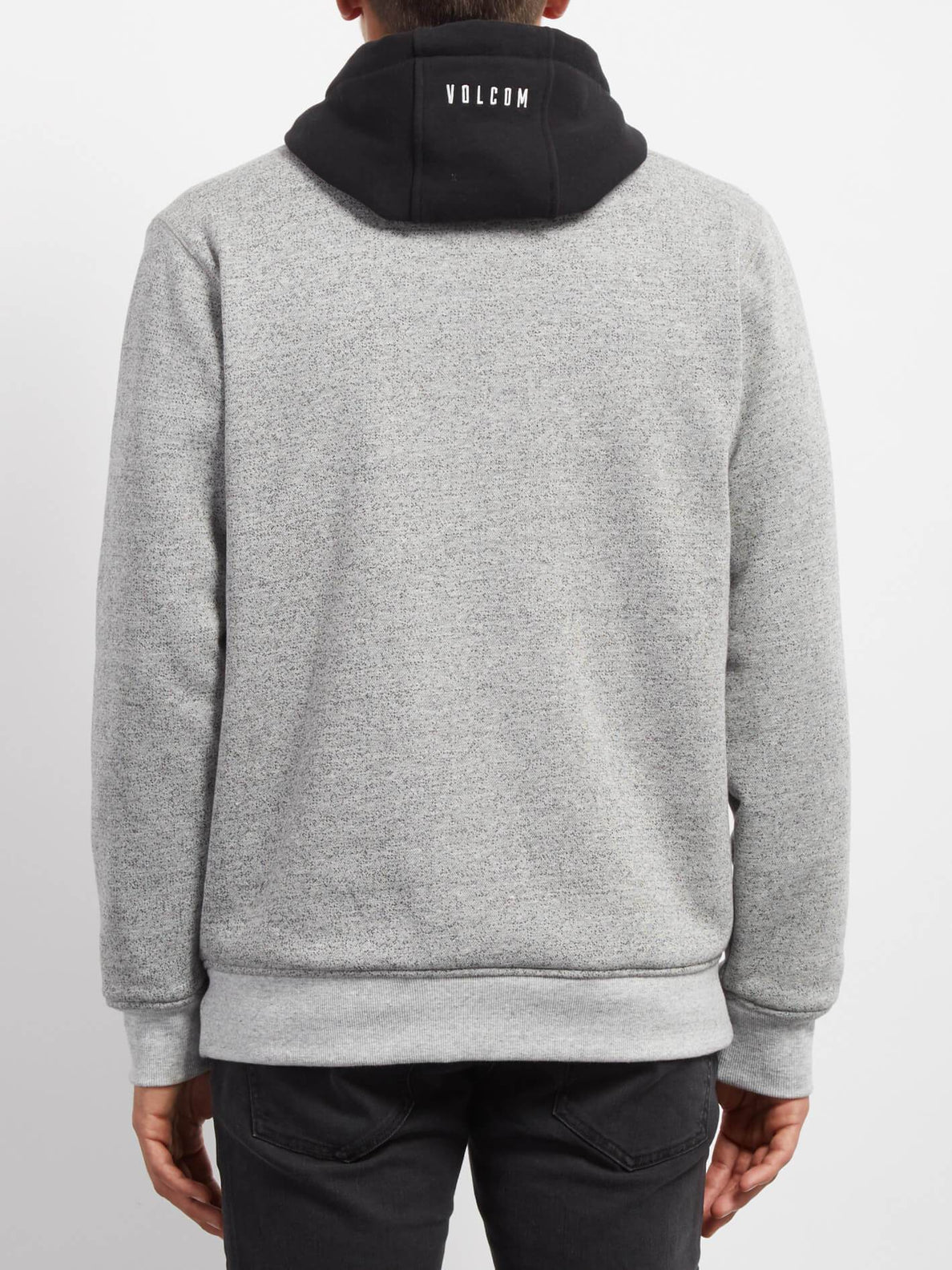 Factual Lined Sweaters - Heather Grey