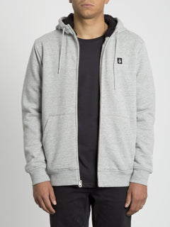 Single Stone Lined Zip Hoodie - Storm (A5831900_STM) [2]
