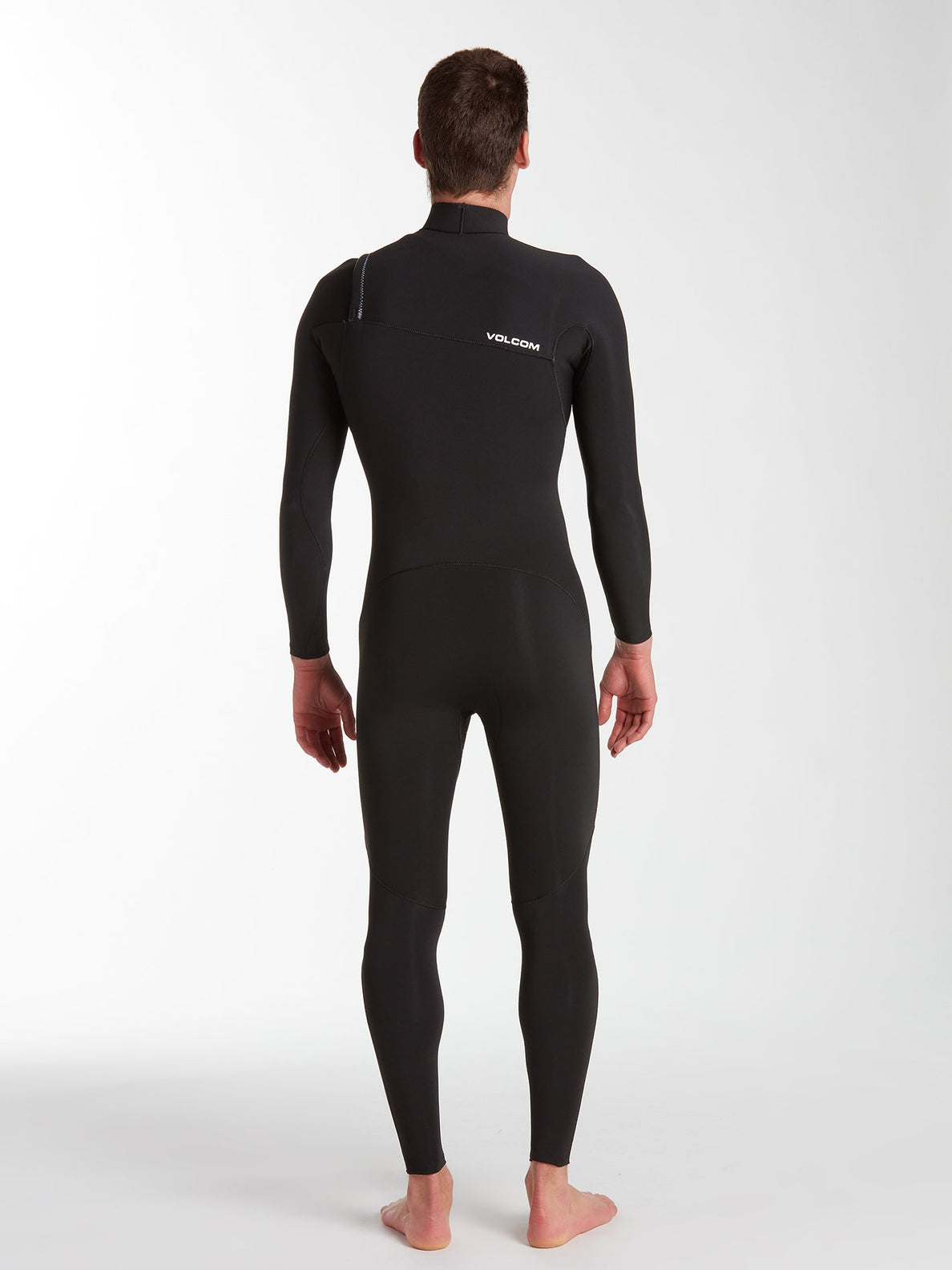 Modulator 2/2 mm Chest Zip Spring Wetsuit - Black