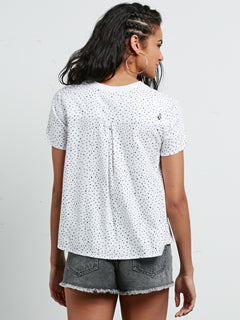 Mix A Lot Short Sleeve Tee - Star White