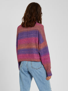 Neon Signs Sweater - Multi (B0712102_MLT) [B]