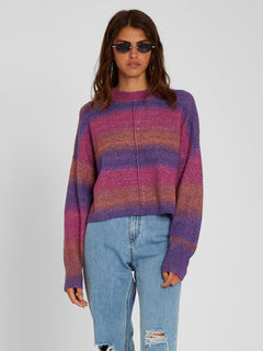 Neon Signs Sweater - Multi (B0712102_MLT) [F]