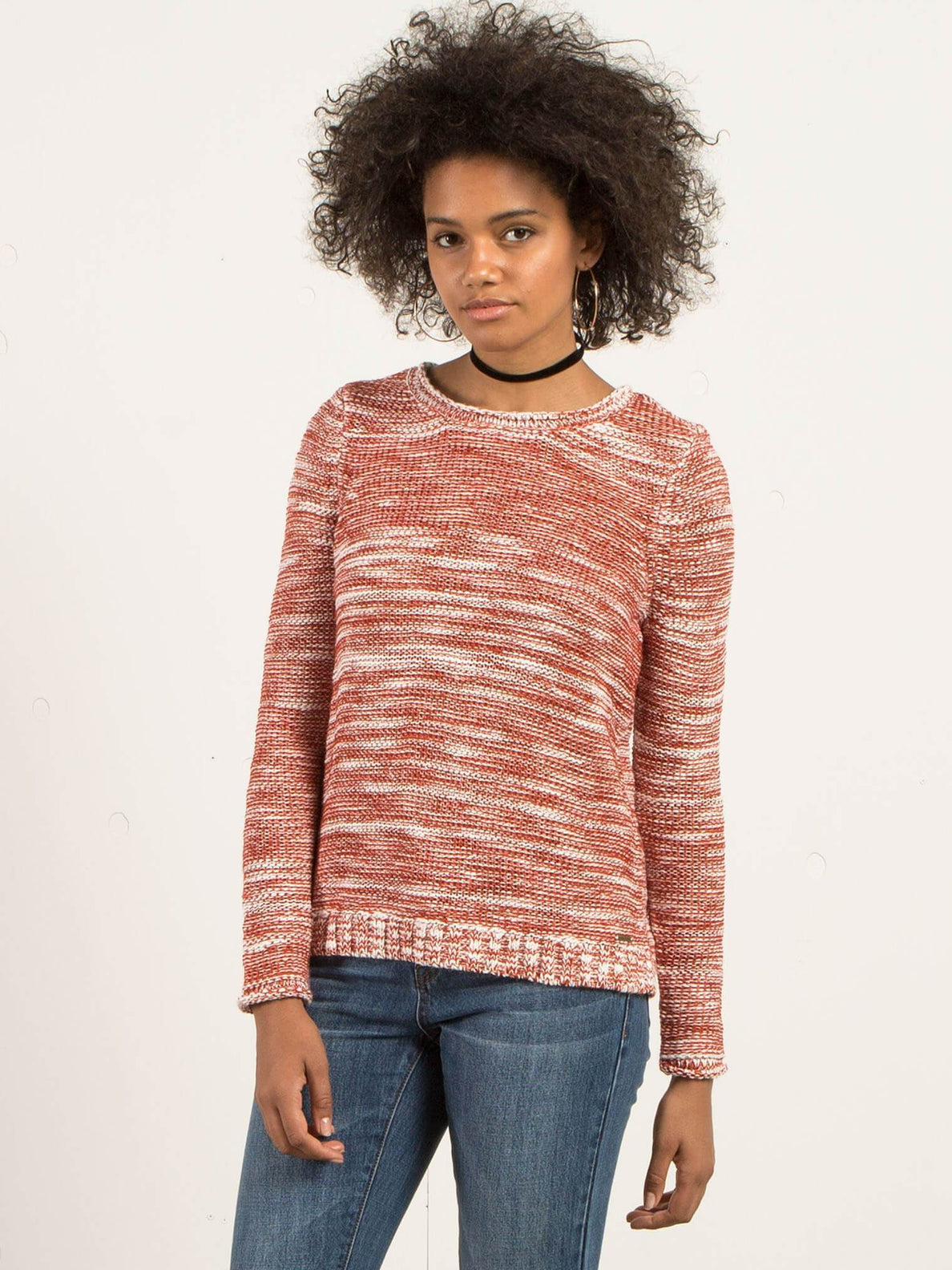 Tip Tippy Sweater - Rust