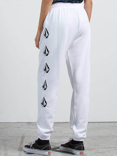 GMJ Fleece Trousers - White