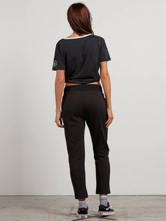Lacy Trousers - Black