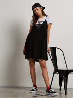 Bout Now Mini Dress - Black