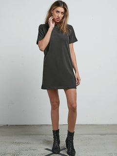 Boyfriend Me Dress - Vintage Black