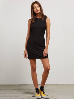 Knot Yours Dress - Black