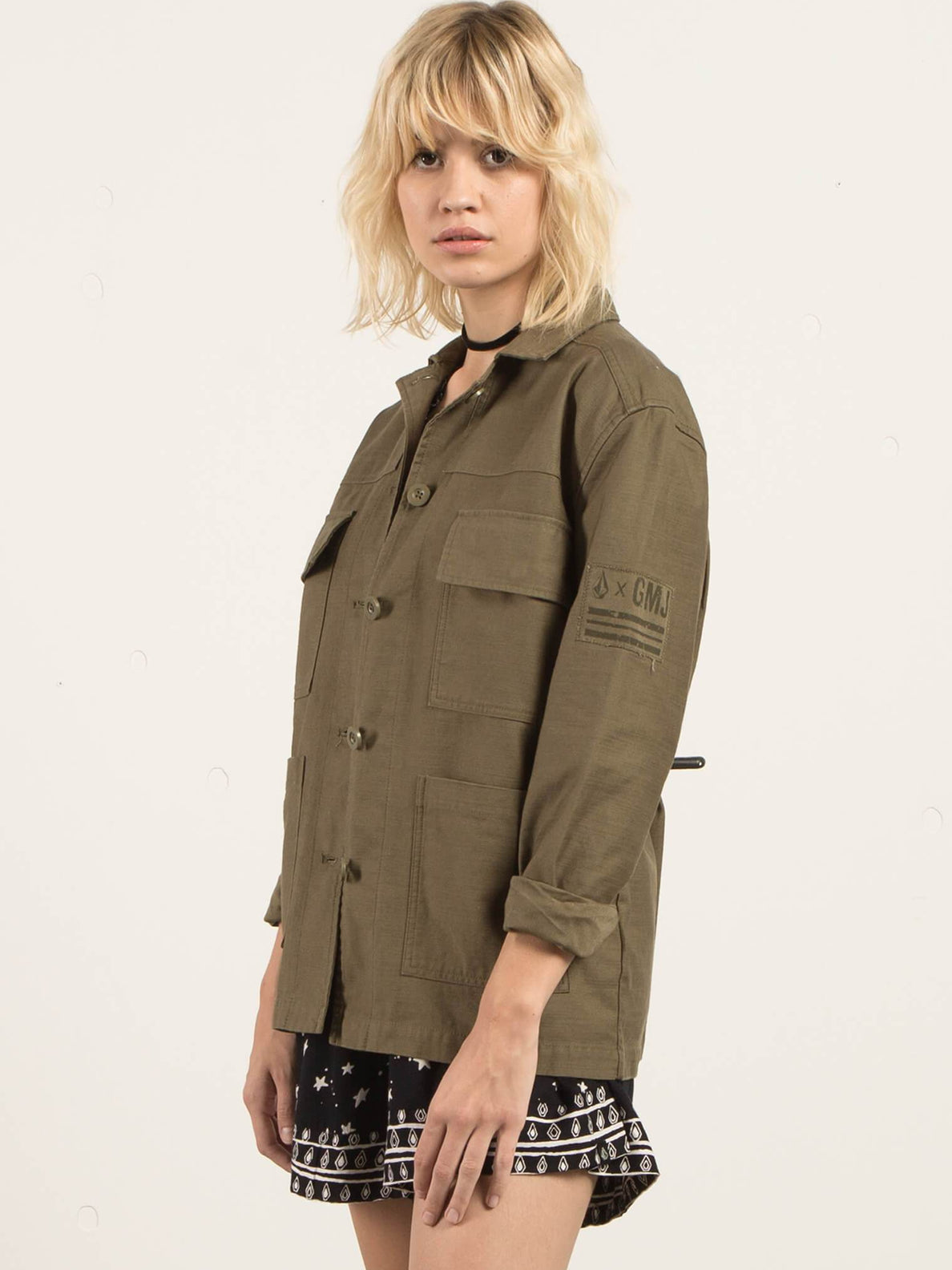 GMJ Shirt Jacket - Dark Camo
