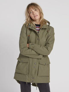 Walk On By 5K Parka - Army Green Combo (B1531950_ARC) [12]