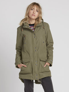 Walk On By 5K Parka - Army Green Combo (B1531950_ARC) [1]