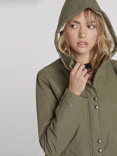 Walk On By 5K Parka - Army Green Combo (B1531950_ARC) [3]