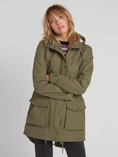 Walk On By 5K Parka - Army Green Combo (B1531950_ARC) [5]