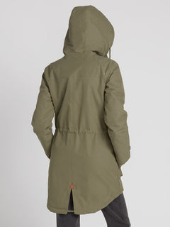 Walk On By 5K Parka - Army Green Combo (B1531950_ARC) [B]