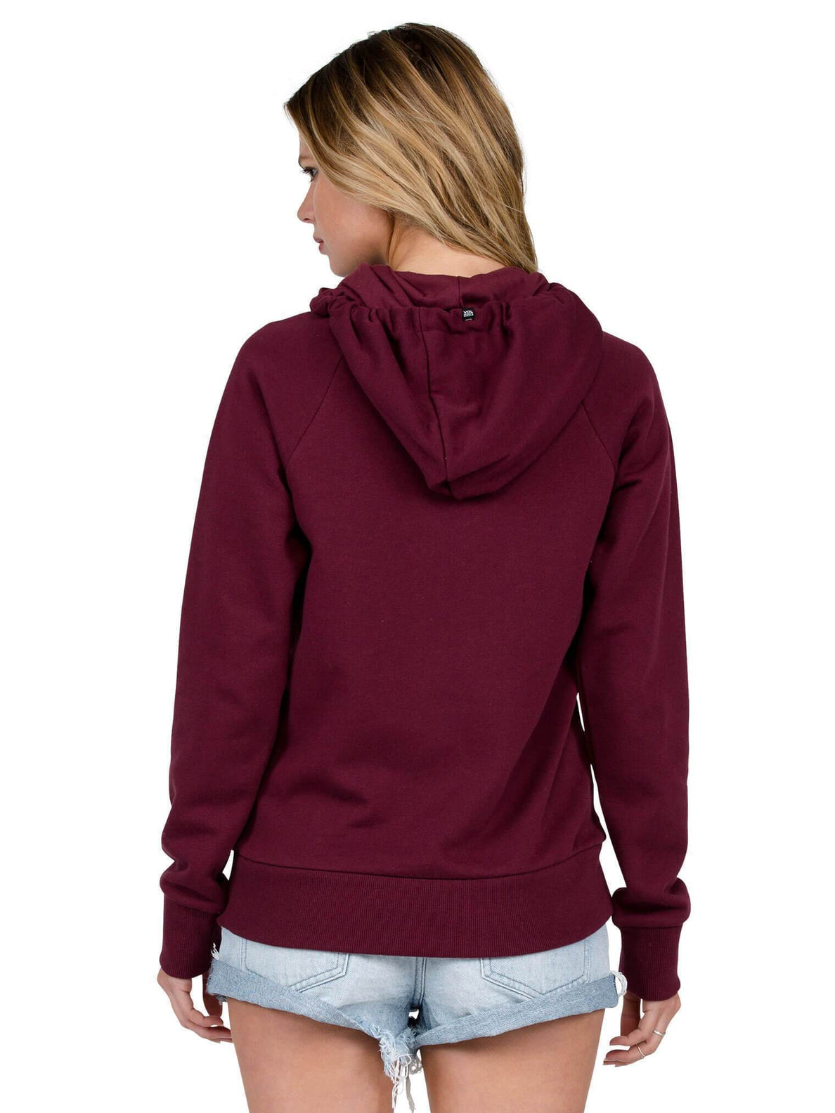 Commin Back Hoody - Merlot