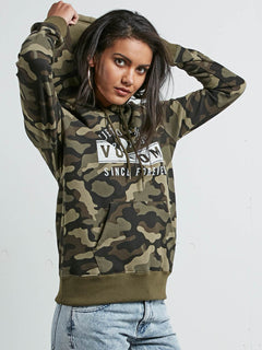 Vol Stone Hoody - Dark Camo