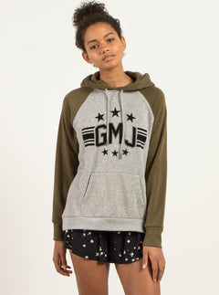 GMJ Pullover Hoody - Heather Grey